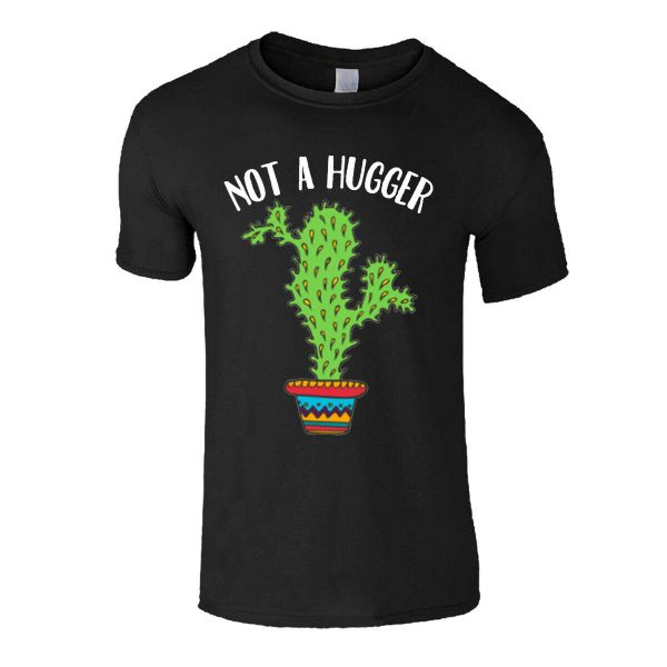 Men's Social Distancing Not A Hugger Isolation T Shirt