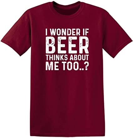 NEW MENS T-SHIRT BEER THINGS ABOUT ME