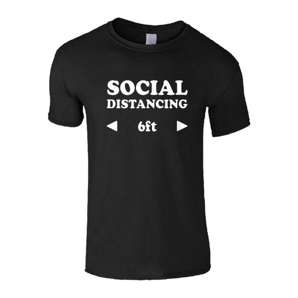 SIMPLE SOCIAL DISTANCING T-SHIRT