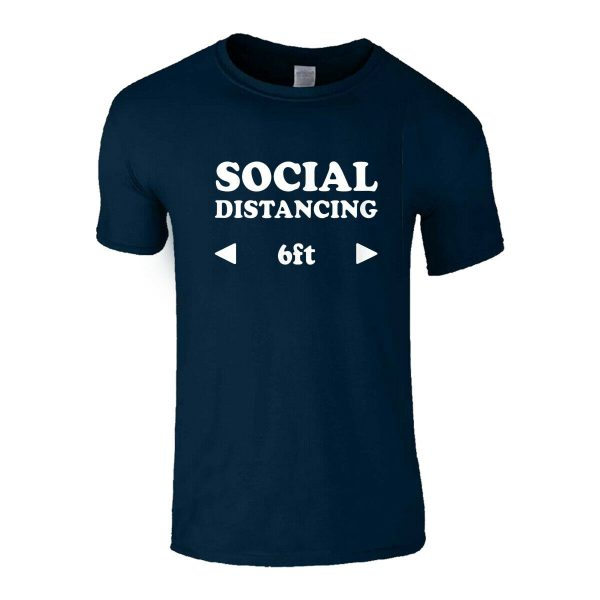 SOCIAL DISTANCING 6FT T-SHIRT