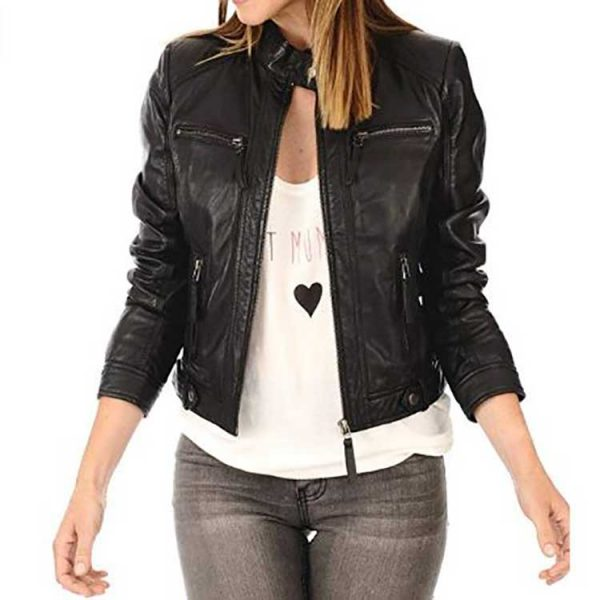 Capture Leather Jacket
