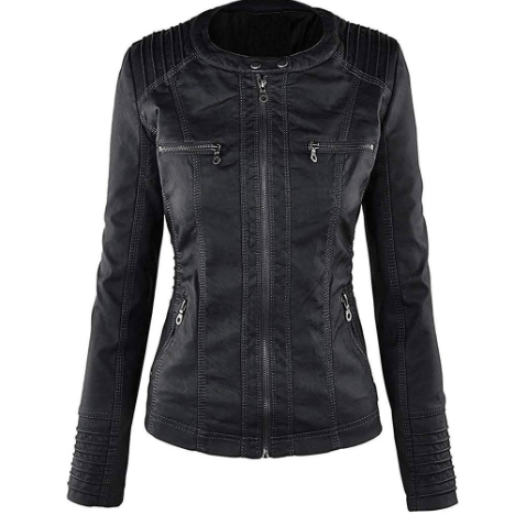 Women Slim Fit Bomber Hooded Leather Jacket Bnson Get the best deals on women's leather coats and jackets. women s slim fit bomber hooded leather jacket