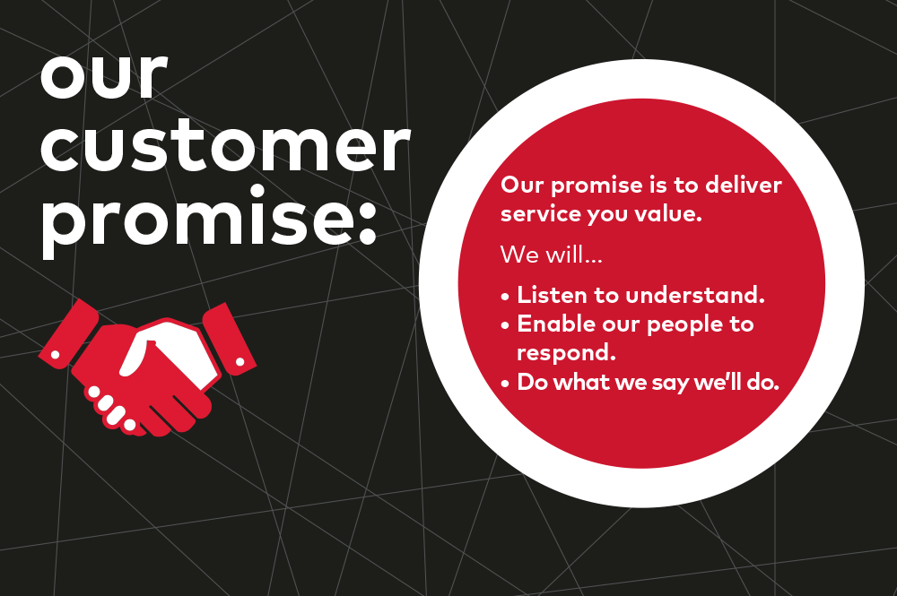 our-customer-promise