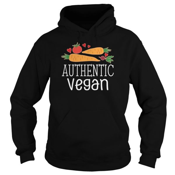 Authentic Vegan Vegetarian Healthy Food Men's Hoodie