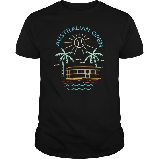 Australian Open Tennis Summer Top T Shirt