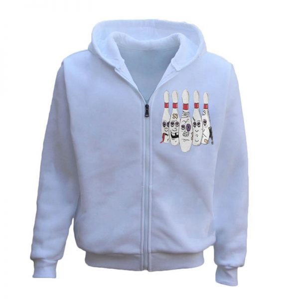 Men's Bowling Funny Hoodie