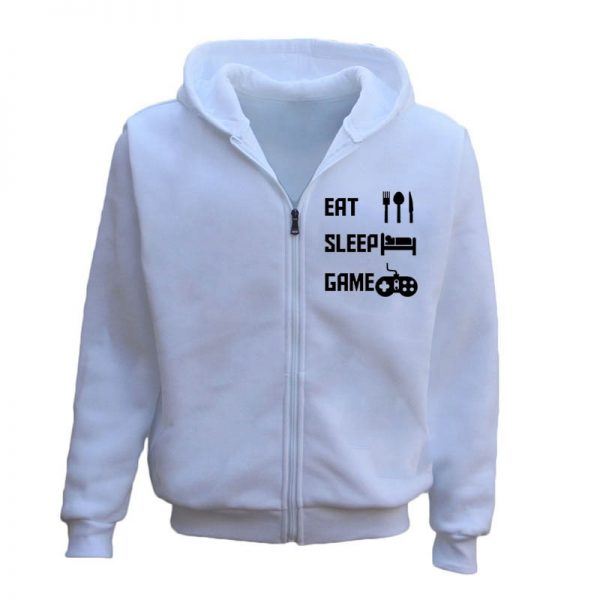 Eat Sleep Game Video Gaming Men's Hoodie