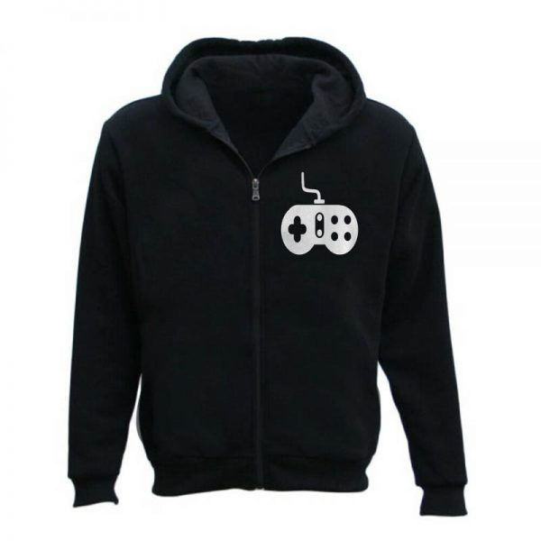 Men's Old School Video Game Controller Gaming Hoodie