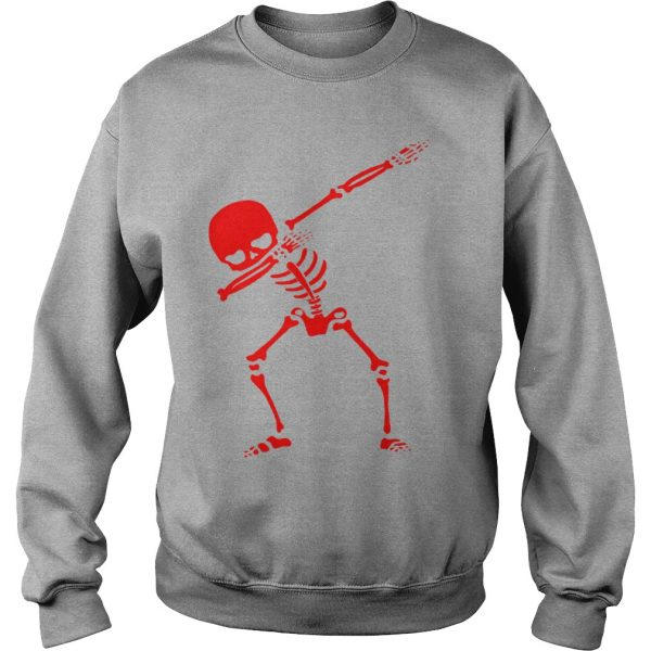 RED SKELETON FUNNY HALLOWEEN - SWEAT SHIRT