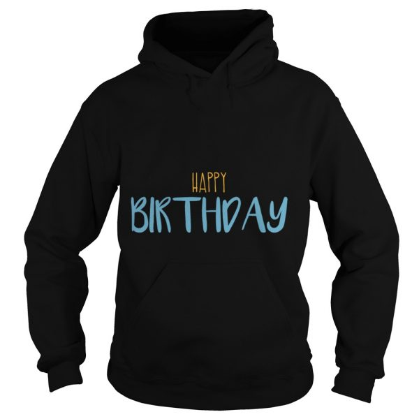 Happy Birthday Men's Long Sleeve Hoodie