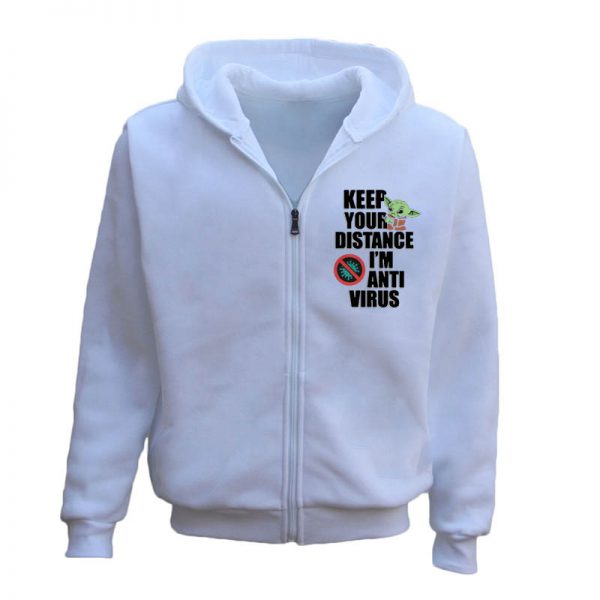 Keep Your Distance I'm Anti Virus Social Distancing Hoodie