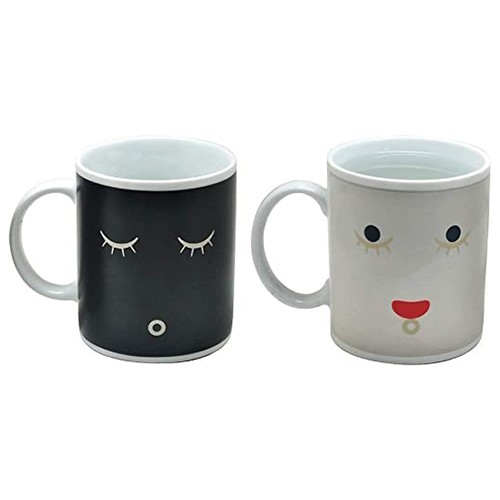 CERAMIC MAGIC MUG & CUP HEAT ACTIVATED COLOR CHANGING COFFEE CUP
