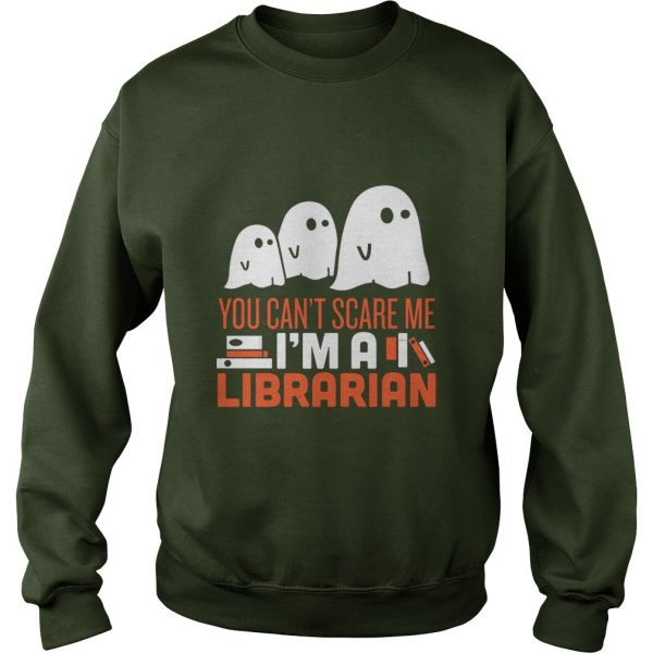 FUNNY SCARY LIBRARIAN HALLOWEEN COSTUME - SWEAT SHIRT