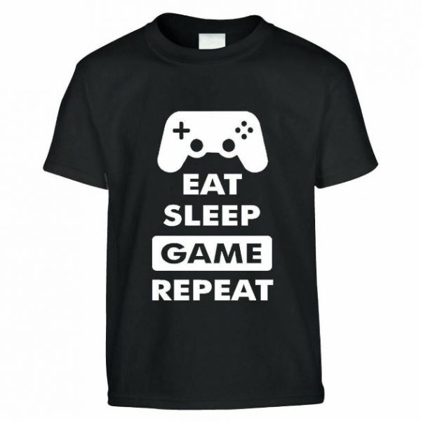 FUNNY GAMING T-SHIRT FOR KIDS BIRTHDAY GIFT