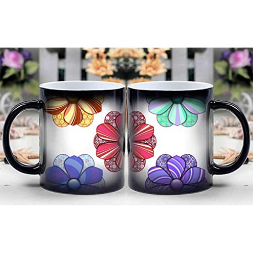 PERSONALISED GIFT HEAT CHANGING MAGIC COFFEE MUG