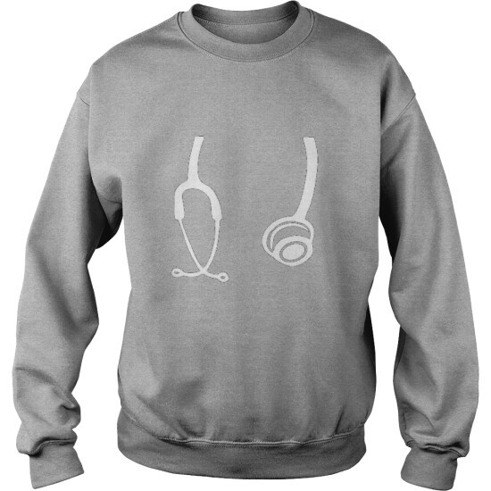 DOCTOR NURSE VETERINARIAN STETHOSCOPE - SWEAT SHIRT