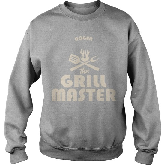 Personalised The Grillmaster Sweat Shirt For Men's