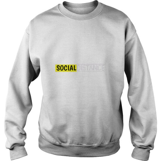 Social Distance Sweat Shirt For Men's