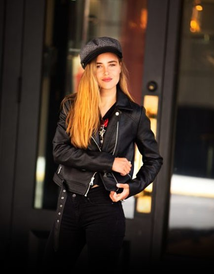 Leather Jackets forwomen