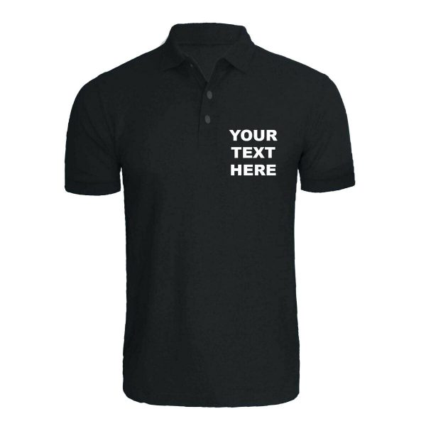 Your test Here T Shirt black