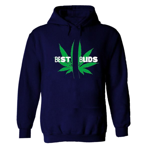Best Buds Marijuana Weed Printed Hoodie Funny Cannabis Drug Lover Gift Top Hoody