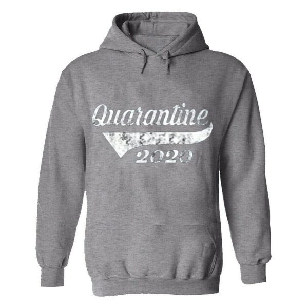 Mens Hoodie Social Distance Quarantine 2020 Help Prevent Stay Home Safe Strong