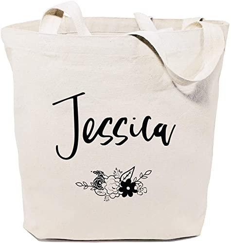 PERSONALISED ANY NAME ANY TEXT PRINTED TOTE BAG