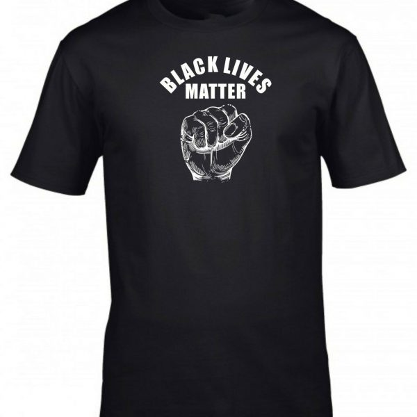 Black Lives Matter T-shirt Anti Racism Protest Riot Politics Justice Men's T-shirt
